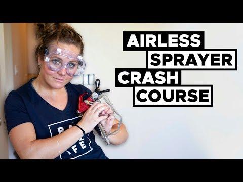 Spray Trim Like A PRO! Airless Sprayer Crash Course