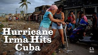 Cuba Took A Direct Hit From Hurricane Irma   Los Angeles Times