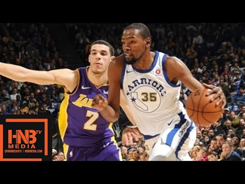 594ca0f9ad0e Los Angeles Lakers vs Golden State Warriors Full Game Highlights   Week 10    Dec 22