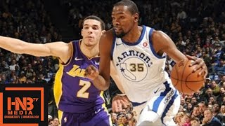 Los Angeles Lakers vs Golden State Warriors Full Game Highlights / Week 10 / Dec 22