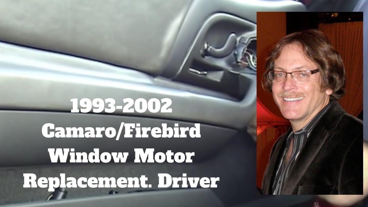 1980 Corvette Wiring Schematic Camaro Amp Firebird Window Motor Replacement Youtube