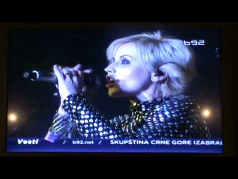 The Cranberries in Serbia [ tv news]