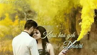 Tujh Mein Rab Dikhta Hai Song ( Lyrics )  Rabh Ne Bnadi Jodi   Whatsapp status   Romantic Status  