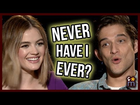 NEVER HAVE I EVER With Lucy Hale & Tyler Posey  TRUTH OR DARE Movie  Exclusive