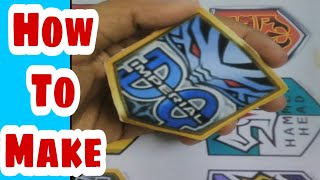 How To Make Idaten Jump Emblems At Home Easily