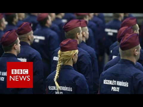 Hungary recruiting 'border-hunters' - BBC News