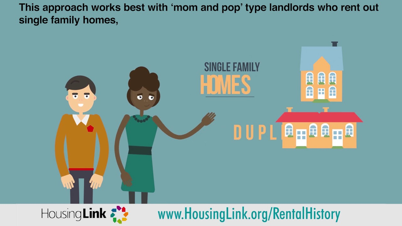 HousingLink - Dealing with a bad rental history