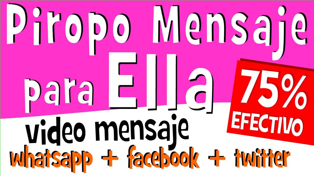 Piropos De Amor Para Mujeres Videos Para Compartir En Whatsapp