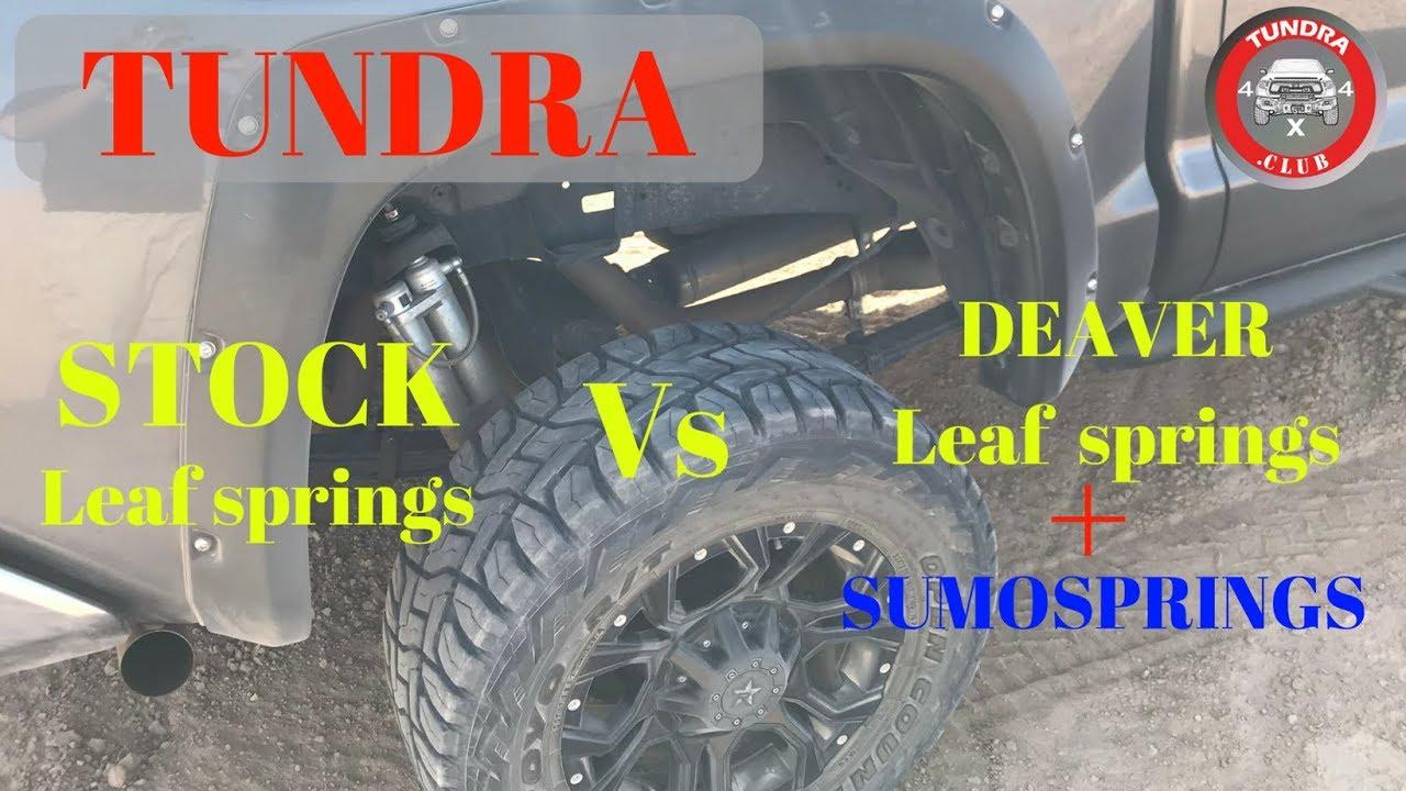 Deaver Leaf Springs >> Stock Rear Suspension Vs Aftermarket