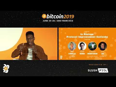#Bitcoin2019 | Protocol Improvement Outlooks W/ Matt Corallo, Jeremy Rubin, 'Roasbeef' & Steve Lee