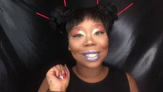 Nicki Minaj CHUN LI Inspired Makeup