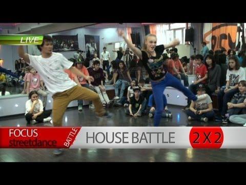 Фрагмент Онлайн-трансляции Hip-Hop Battle в Dance Studio Focus (Алматы, 2013)