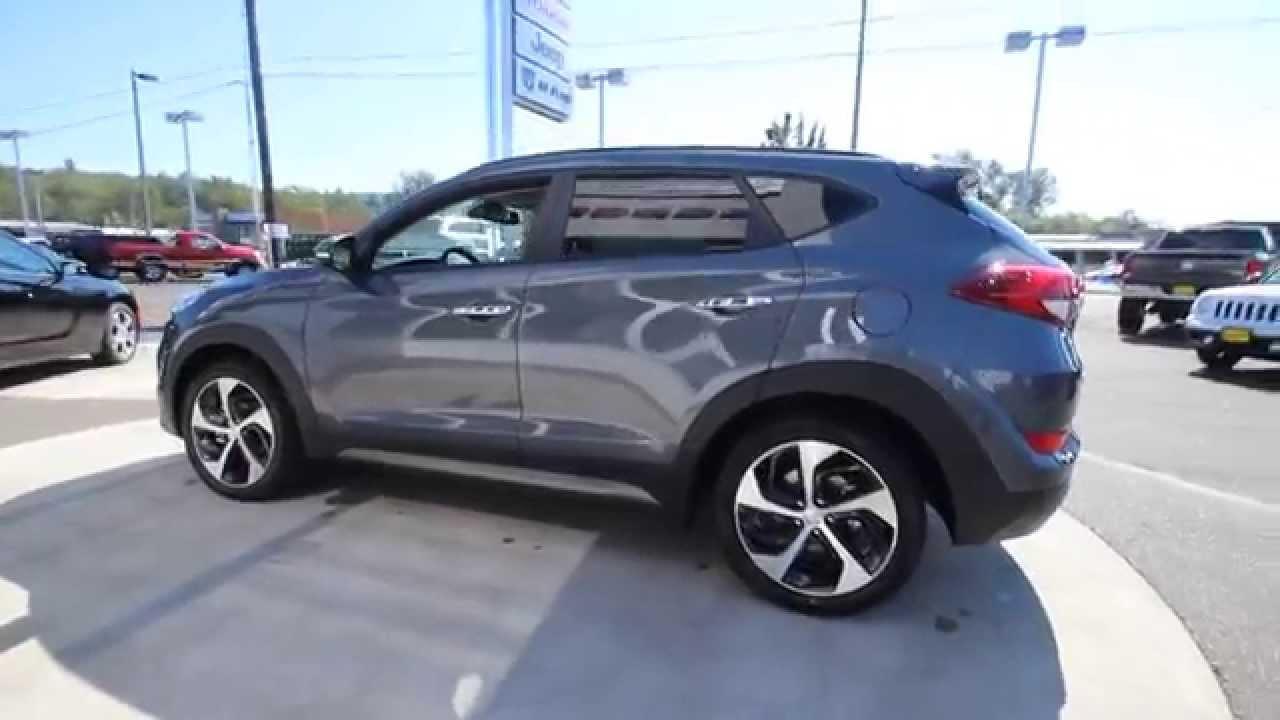 Hyundai County 2018 >> 2016 Hyundai Tucson Limited   Coliseum Gray   GU046622   Skagit County   Mt Vernon - YouTube