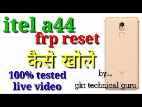 Itel a44 frp reset sp tool | Itel a44 frp | Itel A44 Gmail Bypass