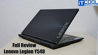 รีวิว Lenovo Legion Y540 ตัวเริ่มต้นของ Gaming Notebook ค่าตัวไม่แรง