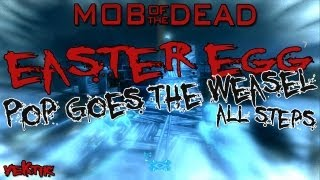 "Mob of the Dead | Pop Goes The Weasel/ Wieselflink Easter Egg ""All Steps"" (German) [HD]"