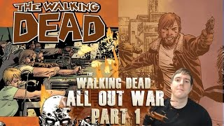 The Walking Dead 20 - All out War Part 1 - Video Review Summary