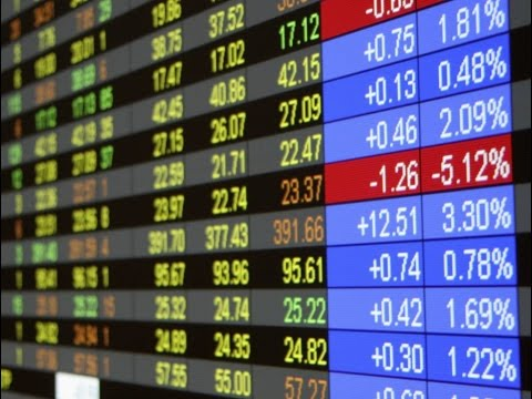 The French Stock Bourse Trades Towards 4,354 50