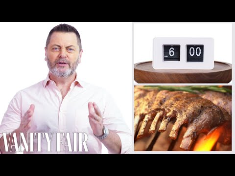 Everything Nick Offerman Does In a Day | Vanity Fair
