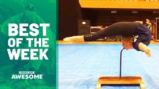 Gymnastics Skills, Fast Workers & More | Best of the Week Video