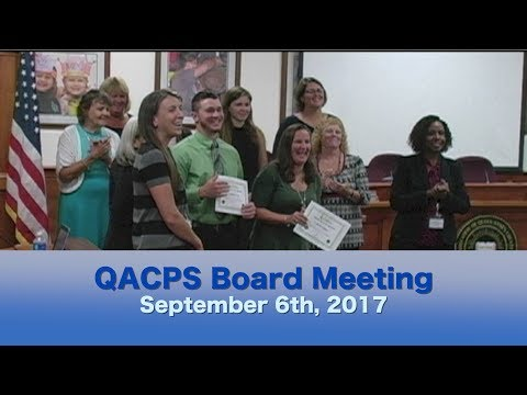 BOE Meeting Sept 6 2017