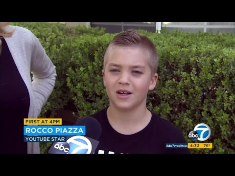 Thumbnail: Rocco Piazza ON THE NEWS | PARENTS GET IN TROUBLE!!