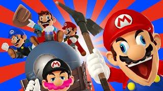 The Vicious Cycle of Marios (Mariopalooza Collab Entry)