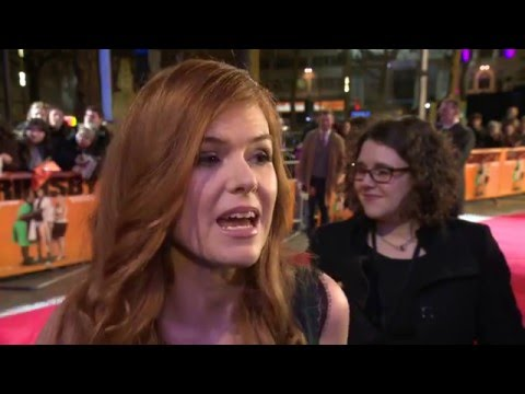 The Brothers Grimsby Isla Fisher World Premiere Interview