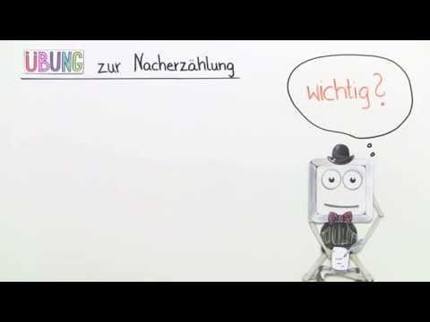 übung Eine Nacherzählung Schreiben Deutsch Grundschule Youtube