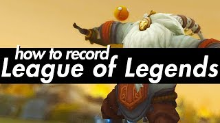 "League of Tutorials #3 | ""How to Record LoL (ft. Creator Suite)"" - by Kevin"