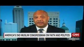 بالفيديو.. أندريه كارسون عضو الكونجرس الأمريكى يحكى كيف دخل الإسلام
