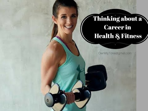What Careers are there in health and fitness?