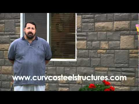 Steel Home Kit from Quonset Hut Building in Alaska by Curvco Steel Buildings