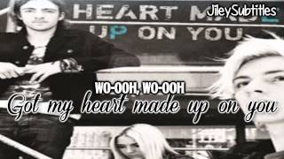 heart made up on you r5 lyric video