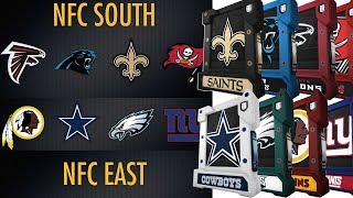 Which NFL Division Is The Best  | NFC East Vs NFC South Fantasy Pack and Play Vs CKBirds