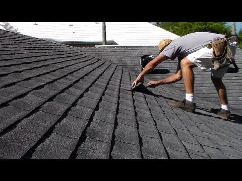 DIY Roof Leak Repair Architectural Shingles Sealing Field Area – How To Fix A Roof Leak Shingles