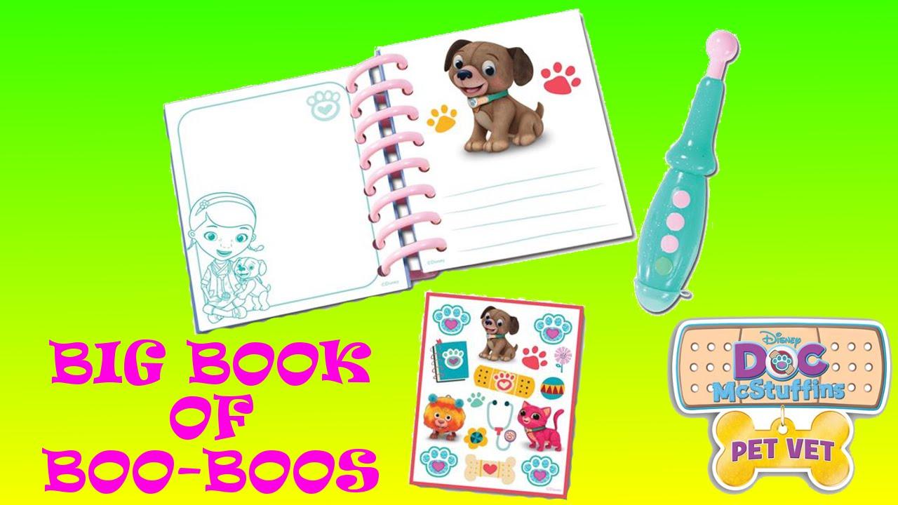 Doc McStuffins Veterinarian Book Of Boo Boo/'s