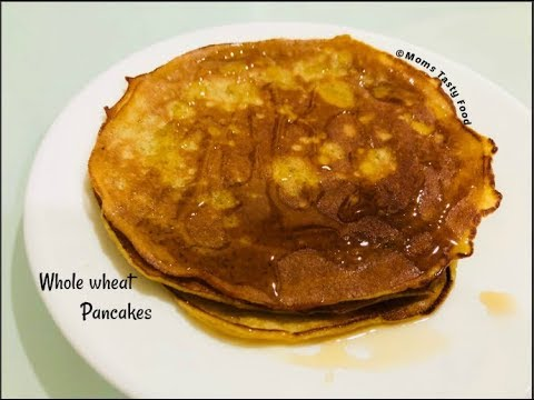 Whole wheat pancakes breakfastrecipe how to make pancakes whole wheat pancakes breakfastrecipe how to make pancakes without baking powdermilkbutter ccuart Choice Image