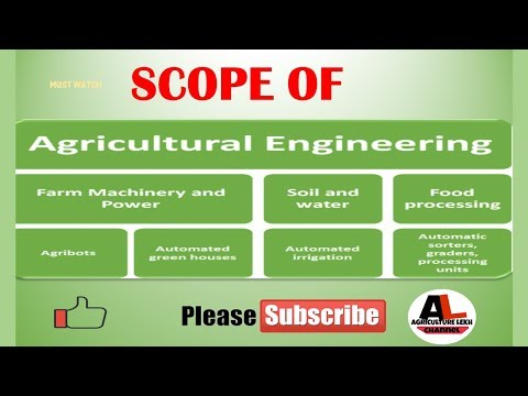scope of agricultural engineering  jobs
