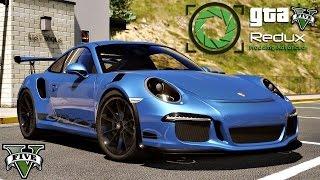 """GTA 5 REDUX MOD """"Porsche 991 GT3RS"""" SHOWCASE (GTA 5 ENB MOD)"""