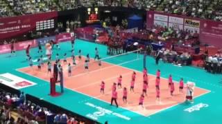 FIVB 世界女排大獎賽 2016 - 保良局黃永樹小學《2