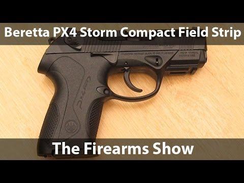 Beretta PX4 Compact Teardown and Field Strip