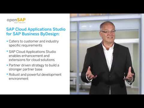 opensap-course:-sap-cloud-applications-studio-for-sap-business-bydesign---teaser-video