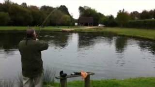 Fly Fishing For Monster Rainbow Trout 18 1/2lb