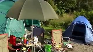 Wild Camping and fishing holiday at loch chon... Aberfoyle. Scotland