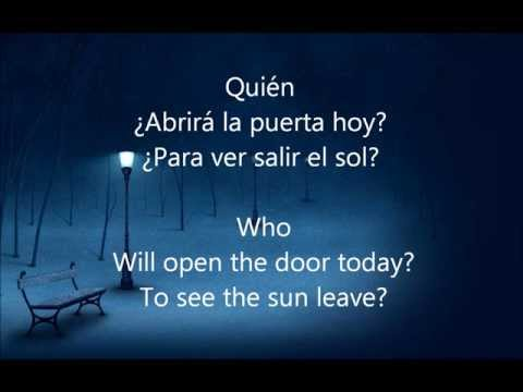 Quien - Pablo Alboran Translated with English Lyrics/Traducido con letra en Español