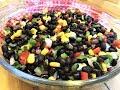 MEKSİKA'DAN 'SİYAH FASULYE SALATASI' TARİFİ l Kolay, leziz ve besleyici