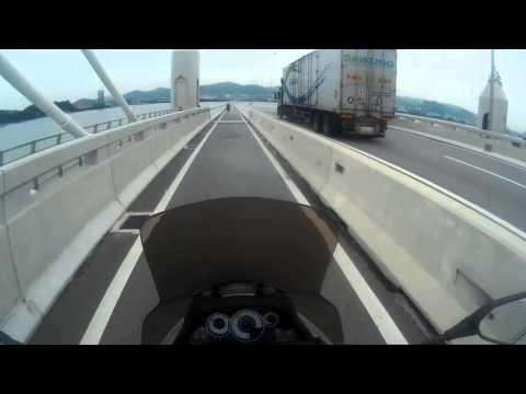 Ride on Penang 2nd bridge