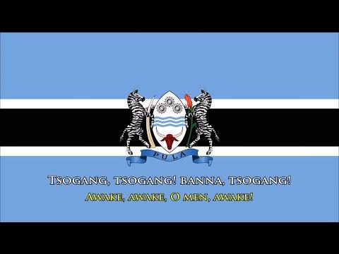 National Anthem of Botswana (Setswana/English)