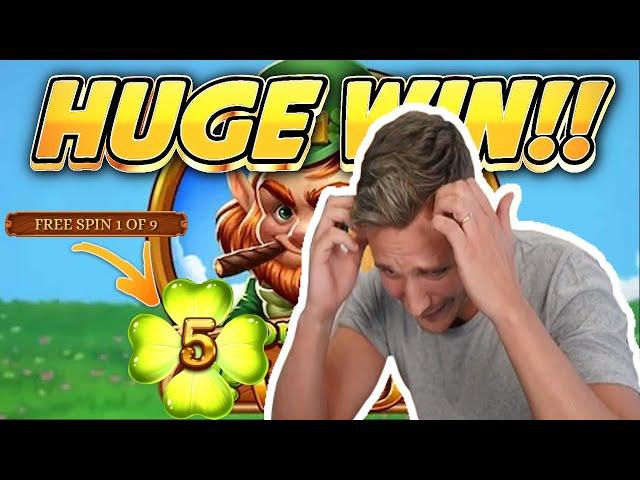 HUGE WIN!!! Leprechaun Goes Wild BIG WIN - Online Casino from Casinodaddys live stream